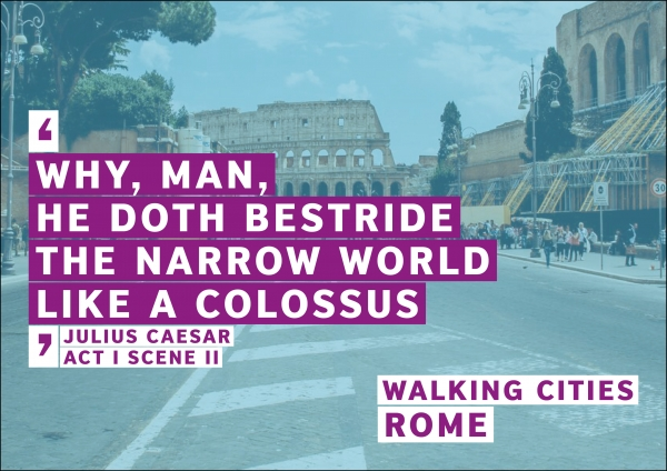 Rome Walking Cities