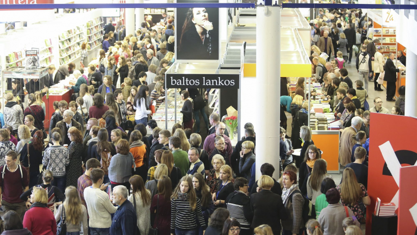 Lithuania Vilnius Book Fair c none