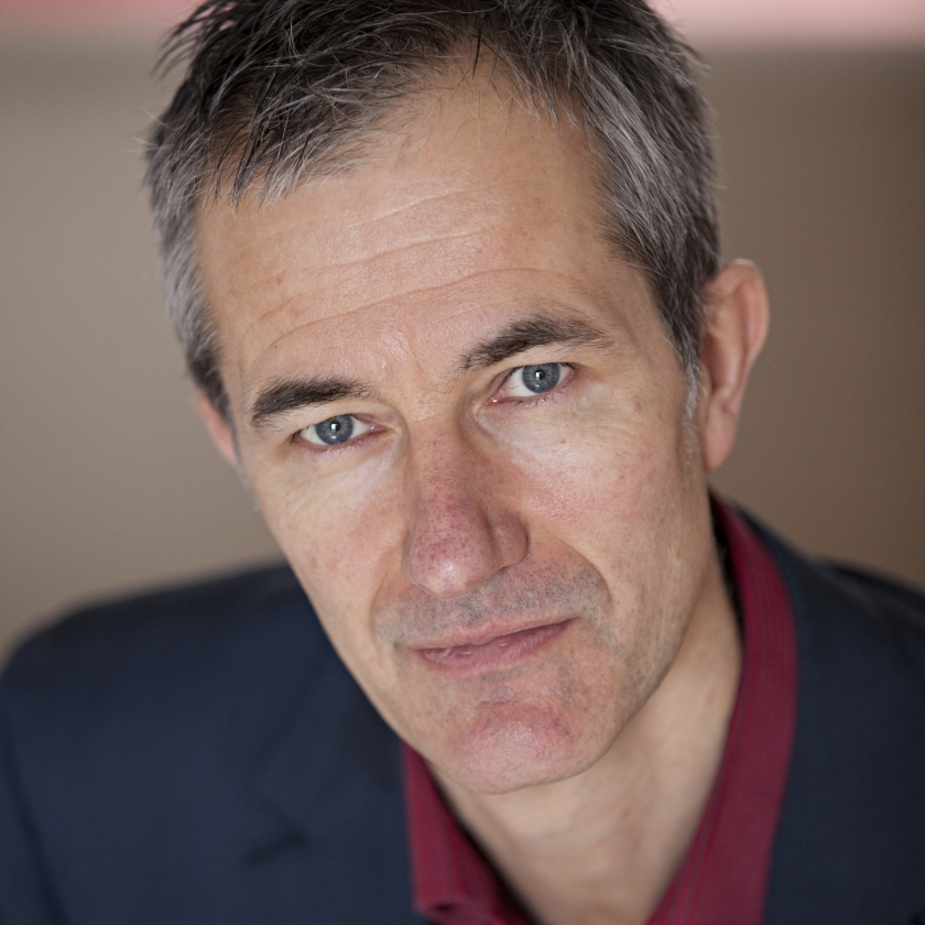 Geoff Dyer by Matt Stuart