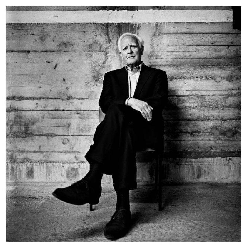 John le Carre credit Anton Corbijn THIS PHOTO MUST NOT BE CROPPED OR ALTERED