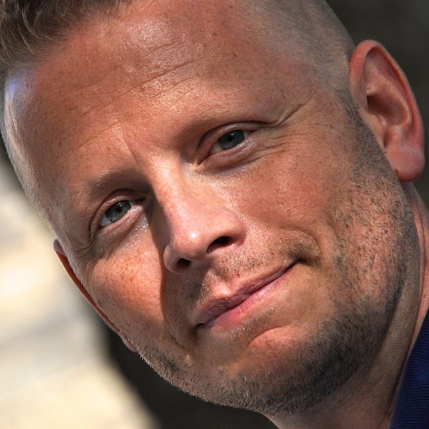 Patrick Ness by Helen Giles