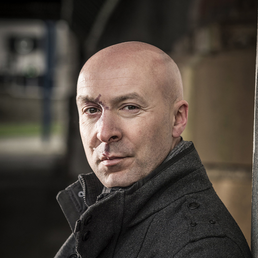 Christopher Brookmyre c Chris Close HS WEB